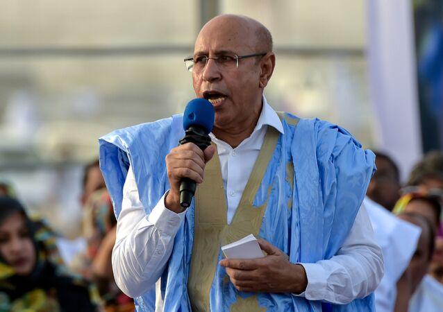 المرشح ووزير الدفاع السابق في موريتانيا محمد ولد الشيخ الغزواني