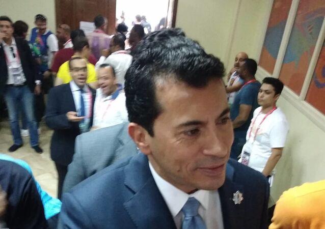 أشرف صبحي وزير الرياضة المصري