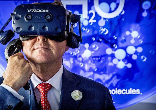 تجربة لسماعة الواقع الافتراضي