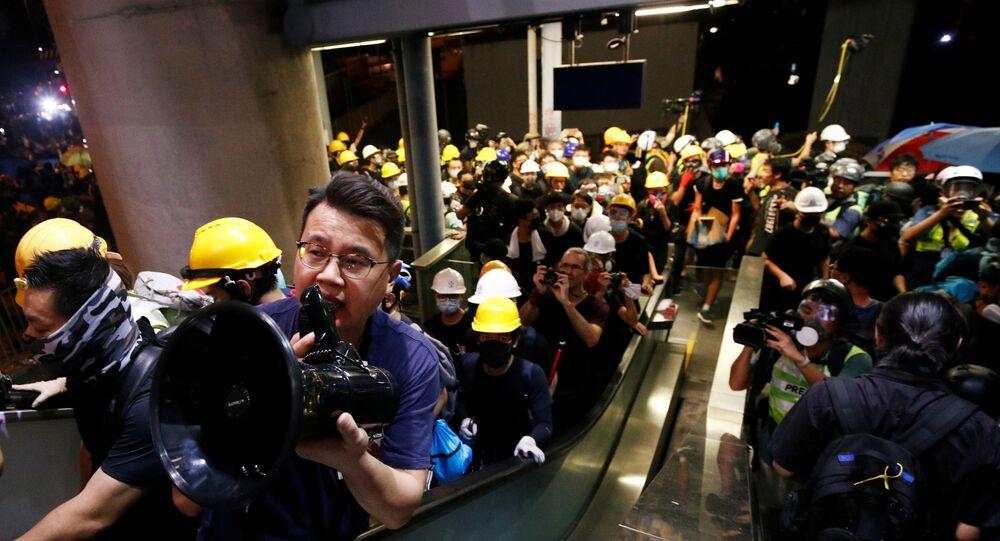 مظاهرات في هونغ كونغ، 27 يوليو/تموز 2019