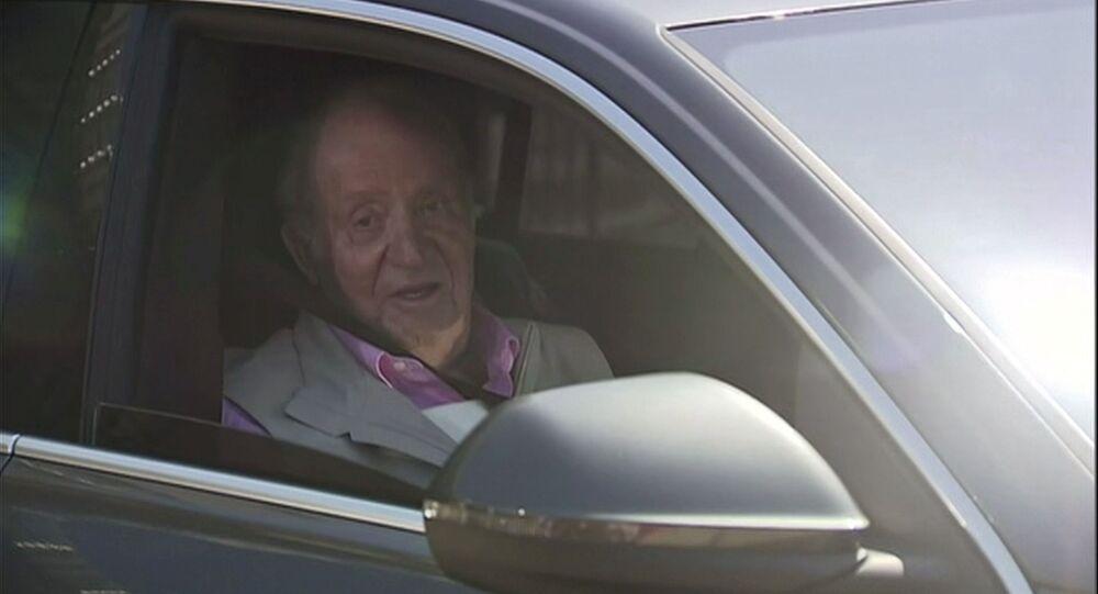 ملك إسبانيا الأسبق خوان كارلوس مستشفى كويرون