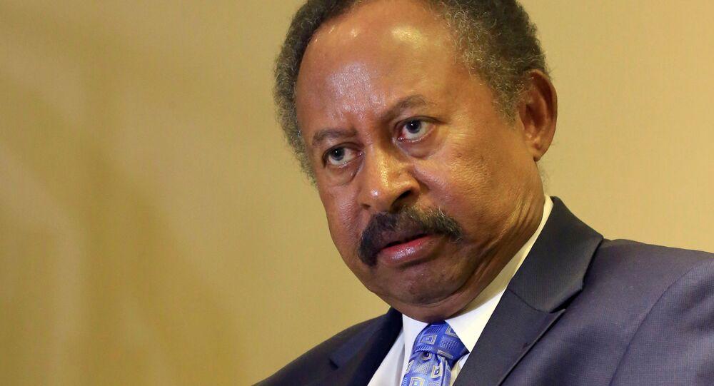 رئيس الوزراء السوداني عبد الله حمدوك، السودان 24 أغسطس/ آب 2019