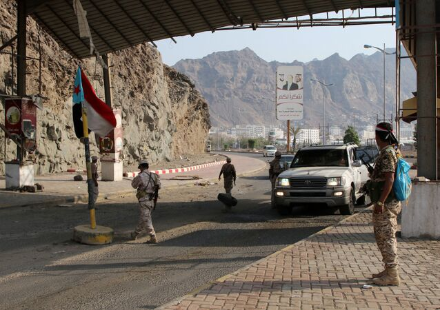 الجيش اليمني، عدن، اليمن 31 أغسطس 2019