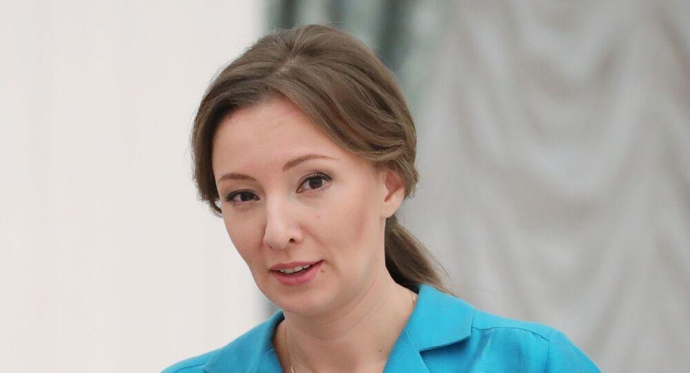مفوضة الرئيس الروسي لحقوق الطفل آنا كوزنتسوفا