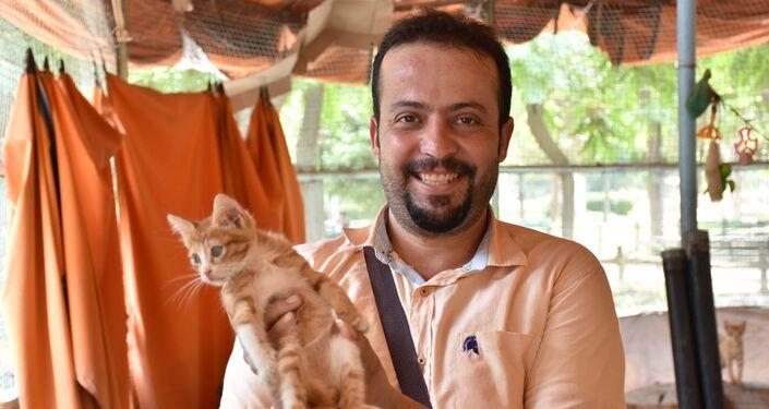 زوجان حلبيان يحققان حلمهما بتشييد ملجأ للقطط الشاردة