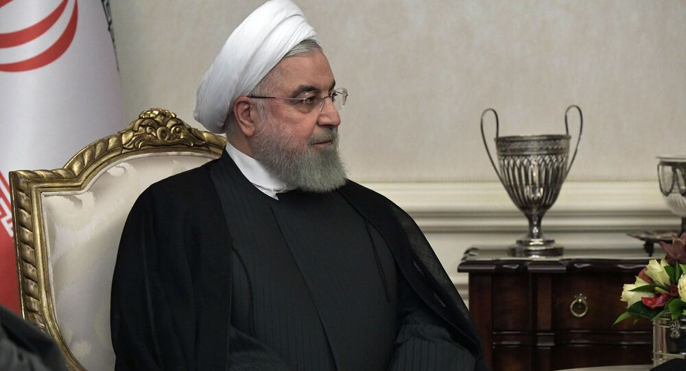 الرئيس الإيراني حسن روحاني في أنقرة، تركيا 16 سبتمبر 2019