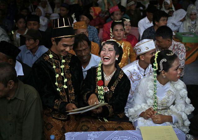 عرس في إندونسيا