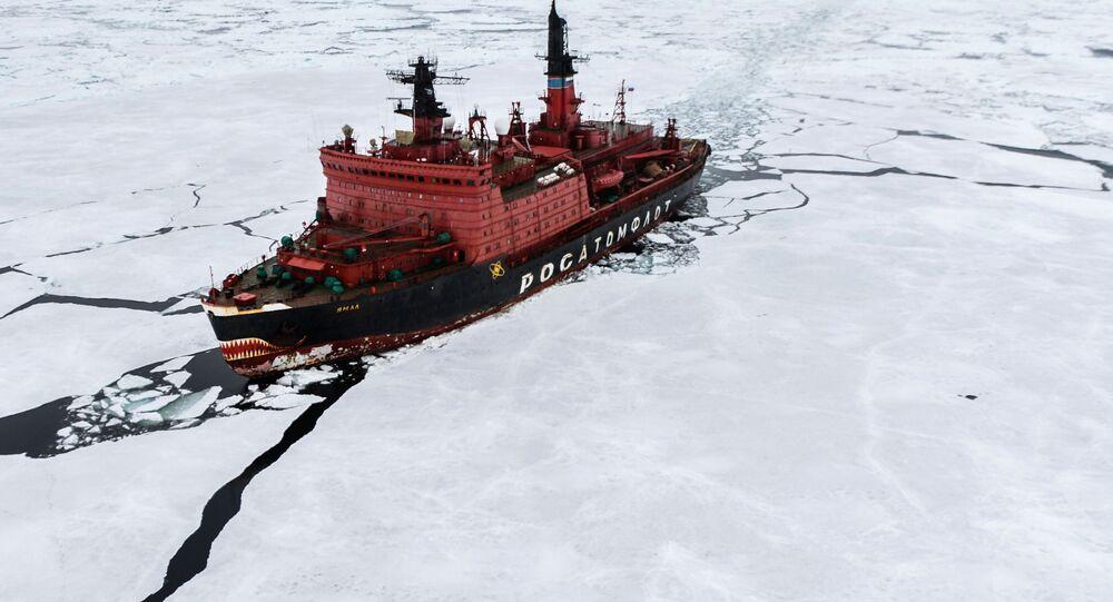 كاسحة جليد نووية روسية