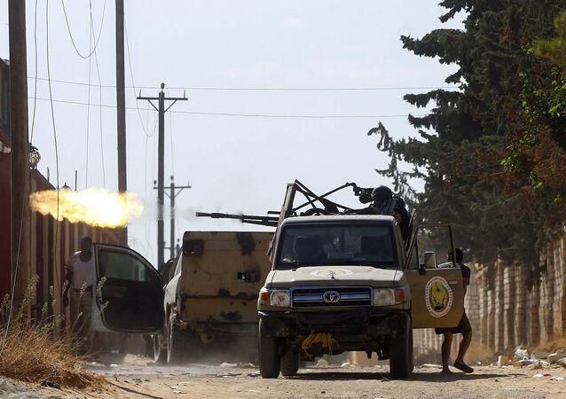 اشتباكات العاصمة الليبية طرابلس