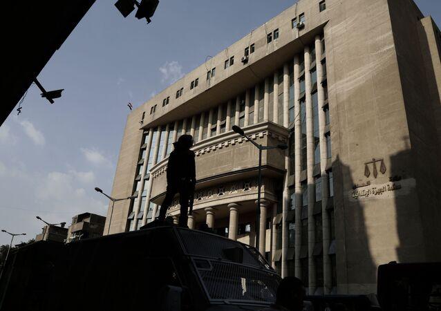 محكمة مصرية في محافظة الجيزة