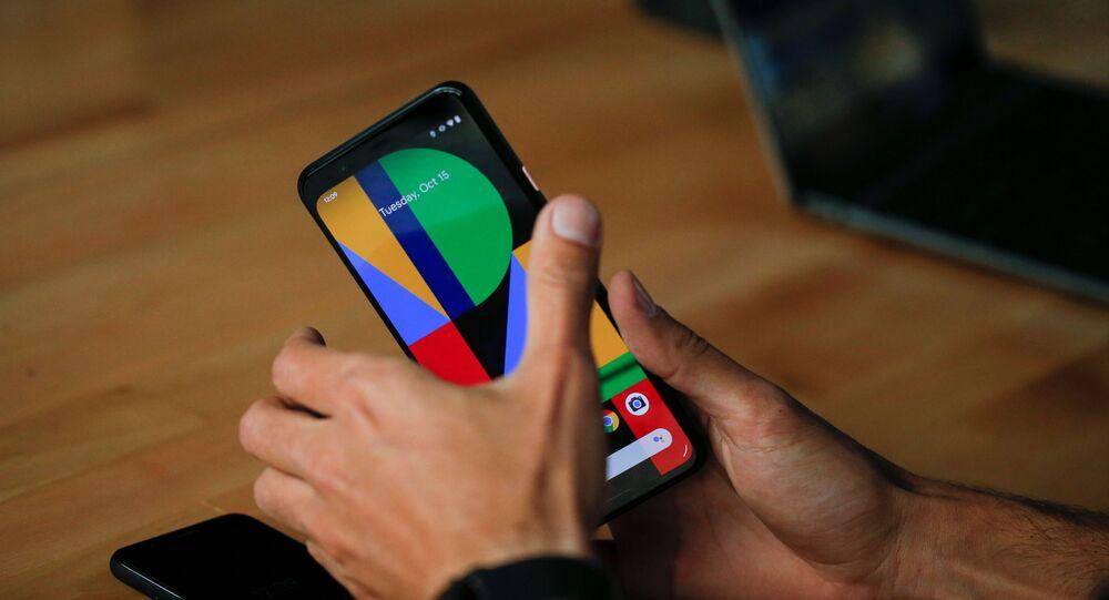 هاتف غوغل الحديث بيكسل 4