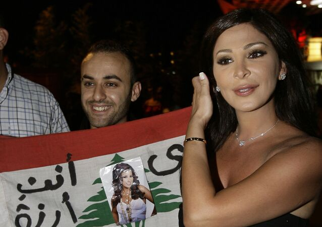 الفنانة اللبنانية إليسا