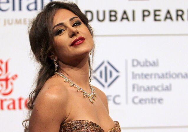 الممثلة السورية ديما قندلفت، 12 ديسمبر 2010