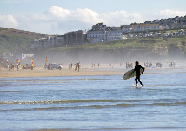 شاطئ بيرانبورث، إنجلترا