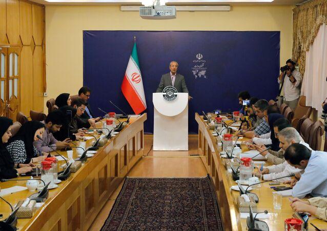 المتحدث باسم الحكومة الإيرانية علي ربيعي