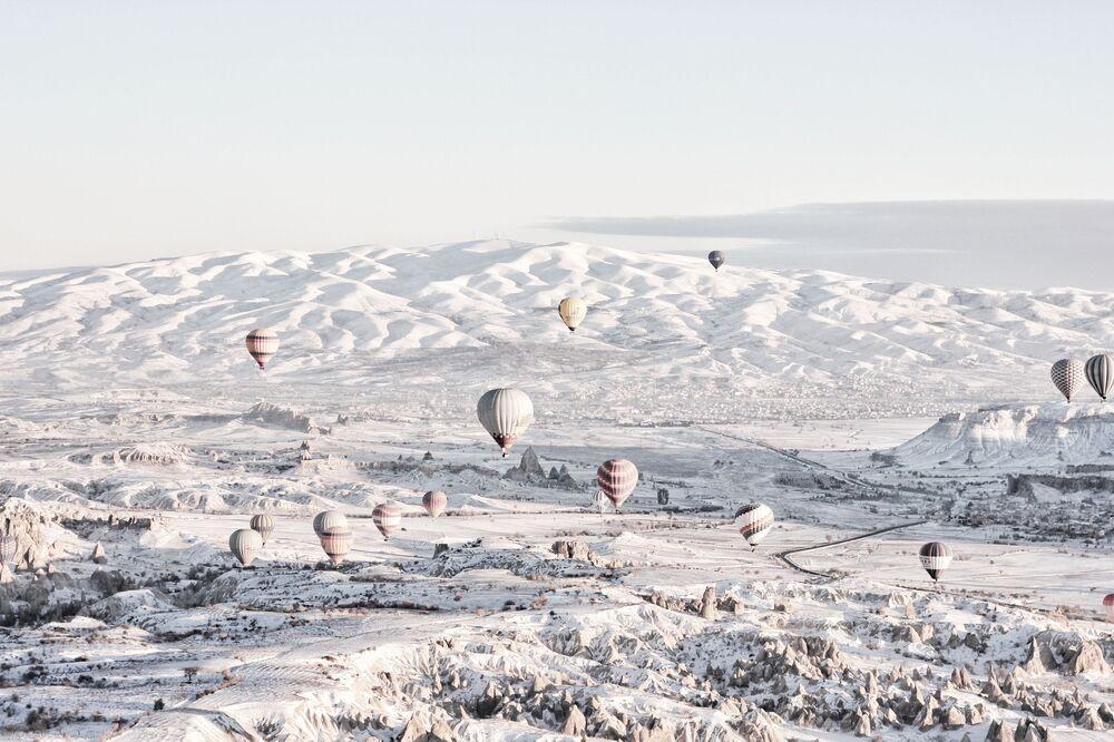 مناطيد هوائية في كبادوكيا، تركيا