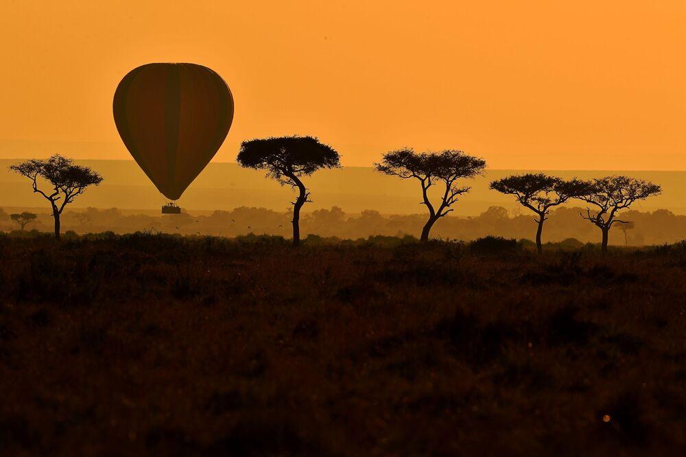 مناطيد هوائية في كينيا