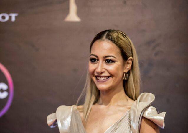 الفنانة المصرية منة شلبي في حفل افتتاح مهرجان القاهرة السينمائي الدولي الـ41، القاهرة، 20 نوفمبر/تشرين الثاني 2019