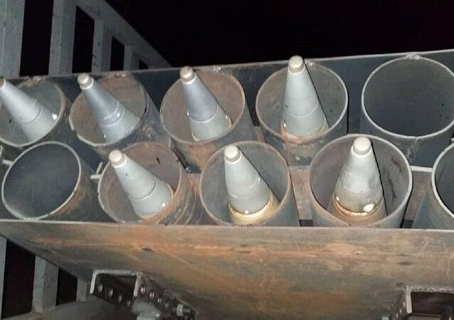 خمسة صواريخ سقطت على ثاني أكبر القواعد الجوية العراقية غربي الأنبار