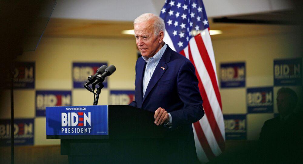 المرشح الديمقراطي المحتمل للرئاسة الأمريكية جو بايدن