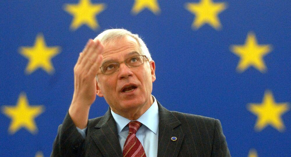 جوزيب بوريل رئيس الدبلوماسية الأوروبية