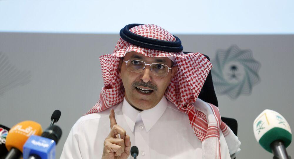 وزير المالية السعودي محمد عبد الله الجدعان