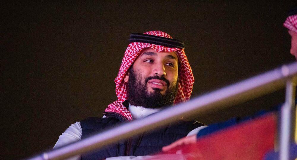ولي العهد السعودي الأمير محمد بن سلمان في الدرعية