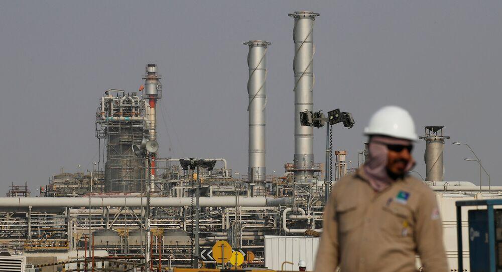 منشأة نفط أرامكو السعودية في بقيق، 12 أكتوبر 2019