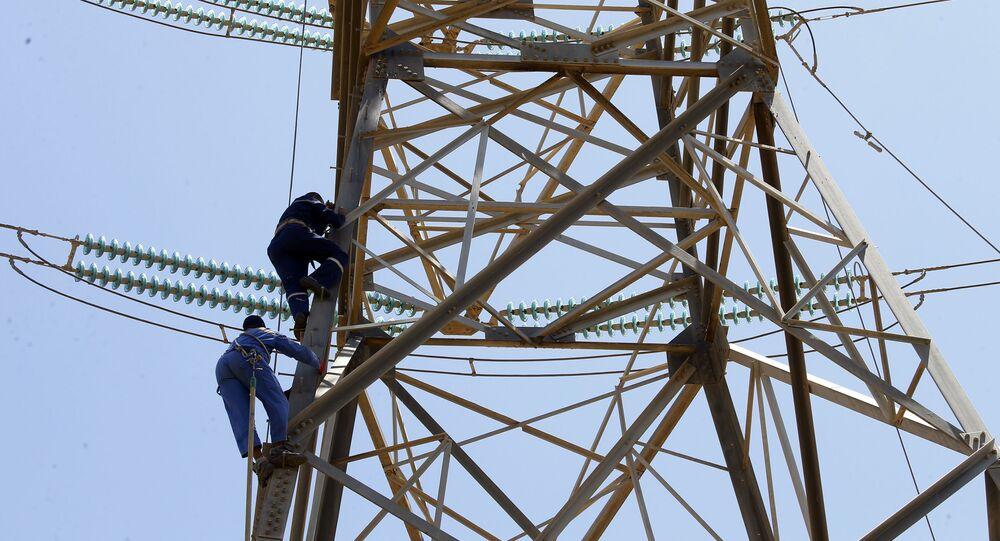 أسلاك الكهرباء في ليبيا، 3 مايو 2019