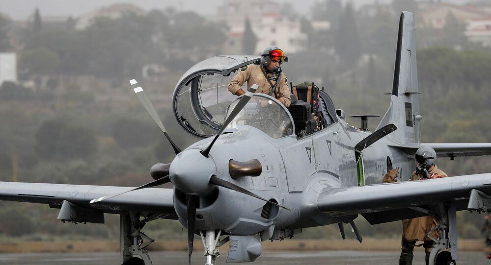 القوات الجوية اللبنانية التابعة للجيش اللبناني
