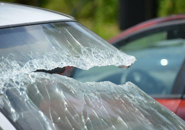 حادث سيارة