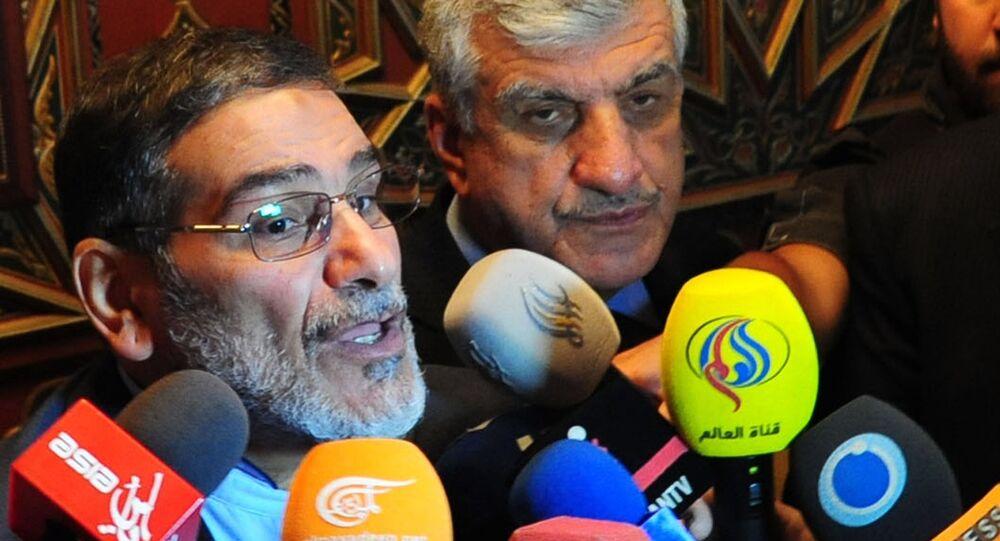 الأمين العام للمجلس الأعلى للأمن القومي الإيراني، علي شمخاني