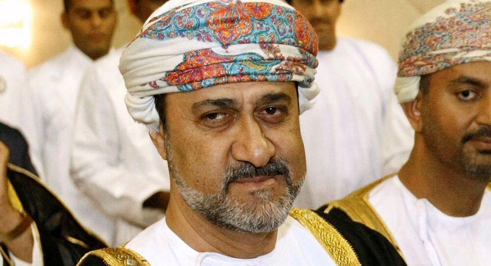 السلطان  هيثم بن طارق آل سعيد زعيم سلطنة عمان