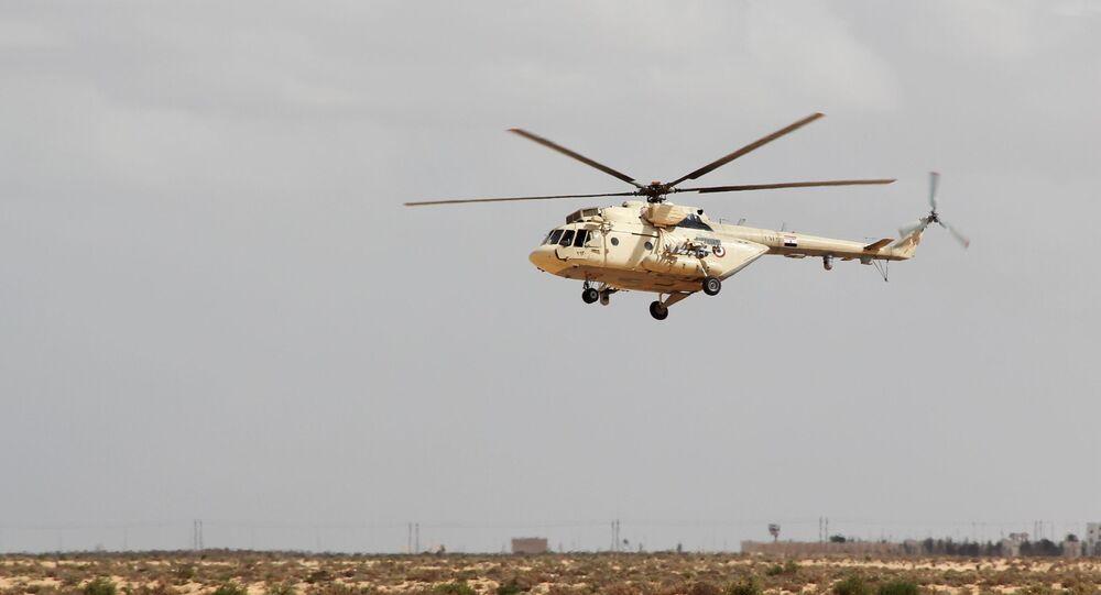 مروحية Mi-17 تابعة للقوات المسلحة المصرية - الجيش المصري