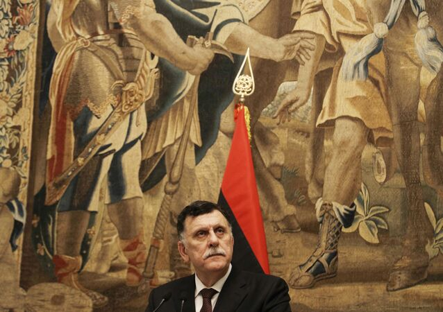رئيس حكومة الوفاق الليبية المعترف بها دوليا، فايز السراج