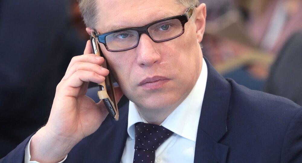أعضاء الحكومة الروسية الجديدة - رئيس الخدمة الفيدرالية لرقابة الرعاية الصحية الروسي ميخائيل موراشكو