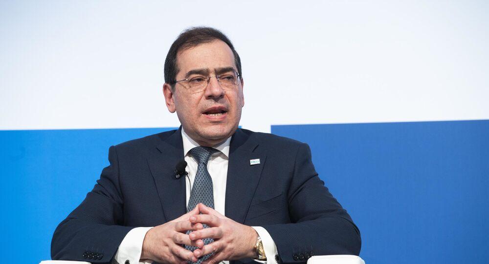 المهندس طارق الملا، وزير البترول المصري