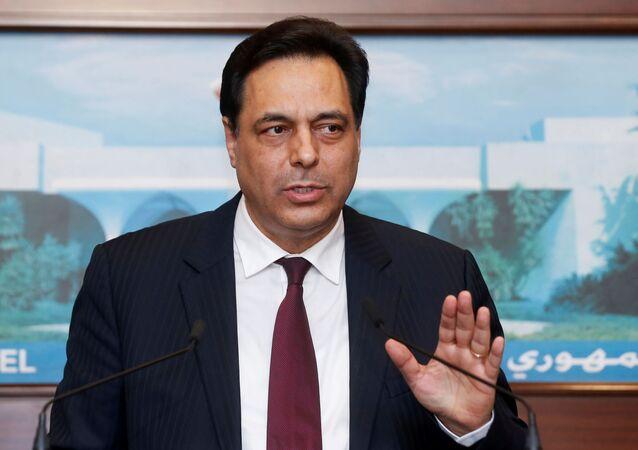 رئيس الحكومة اللبناني، حسان دياب