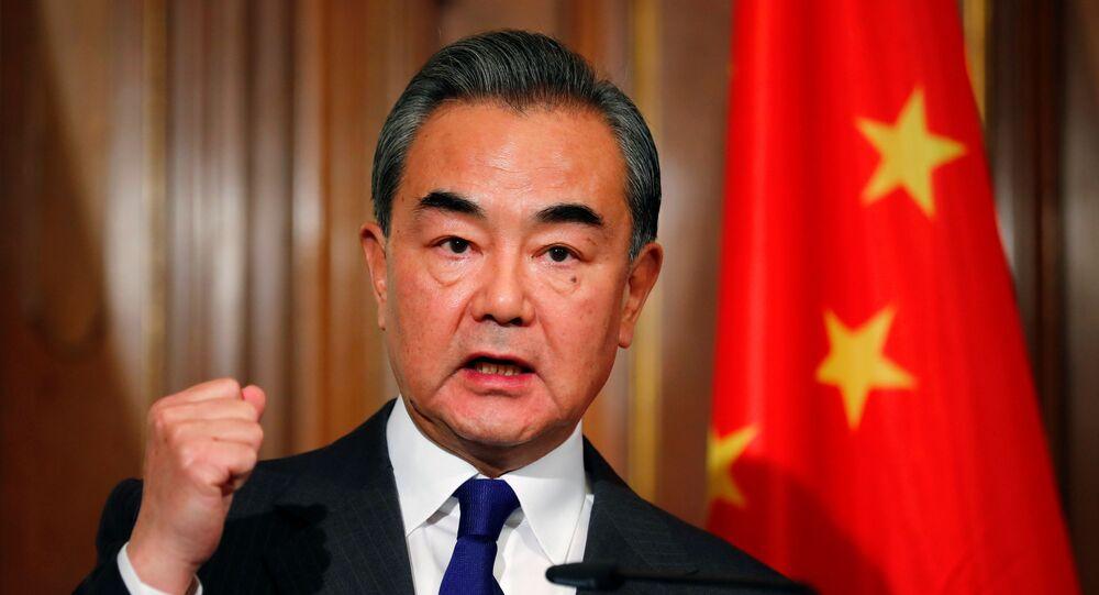 وزير الخارجية الصيني، وانغ يي