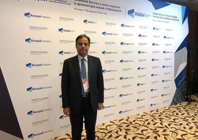 السفير اللبناني شوقي بونصار في منتدى فالداي في موسكو