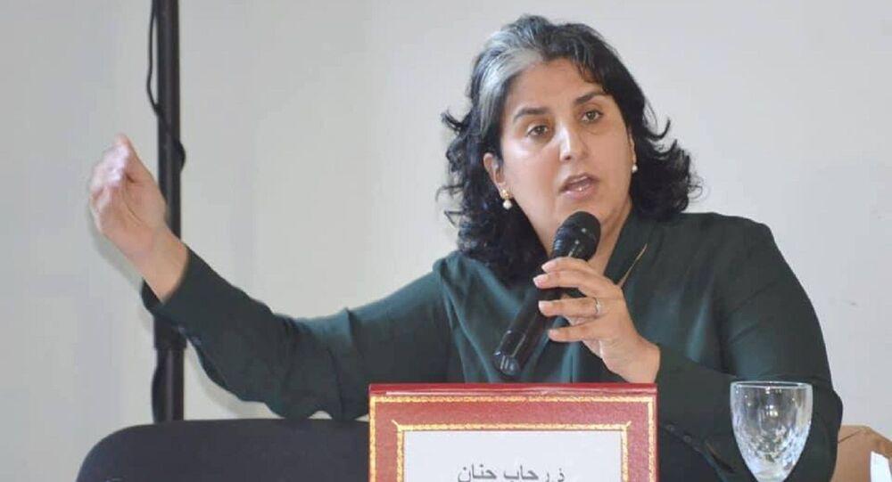 البرلمانية المغربية رحاب حنان