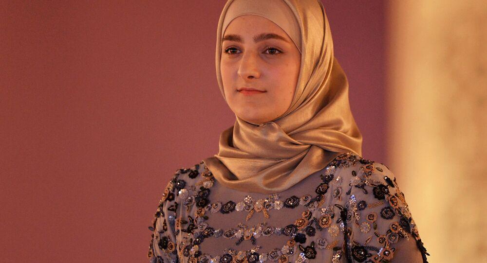 ابنة الرئيس الشيشاني رمضان قاديروف، عائشة قاديروفا