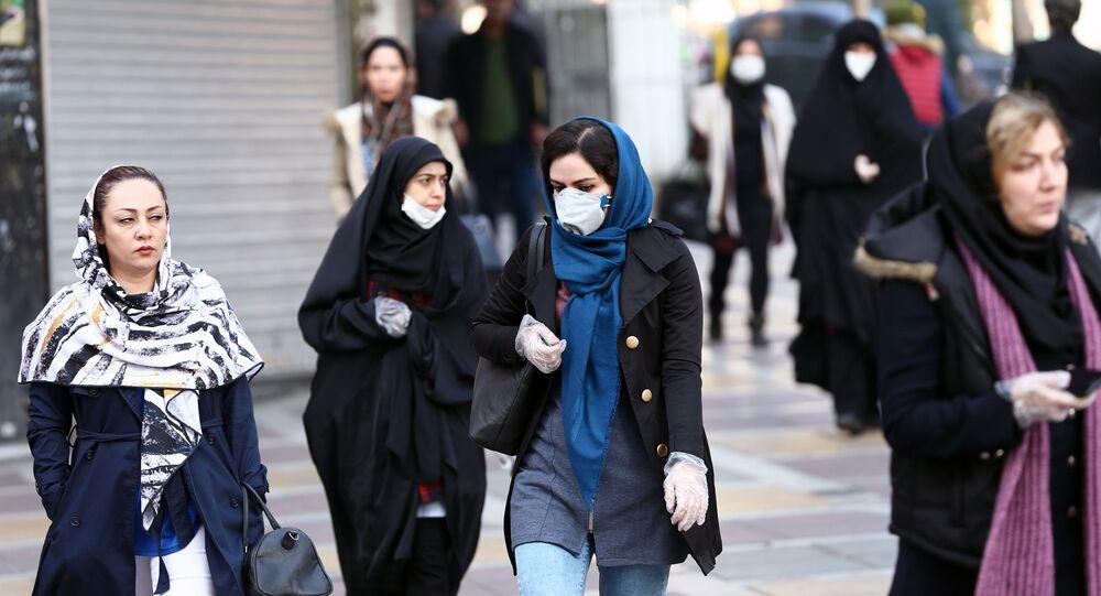 ظهور فيروس كورونا في إيران