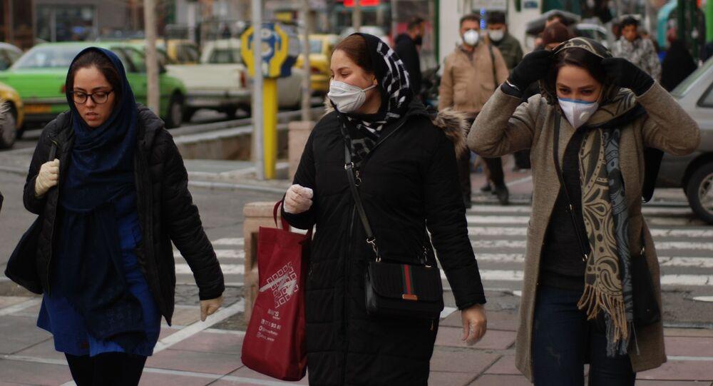 فيروس كورونا - طهران، إيران فبراير 2020