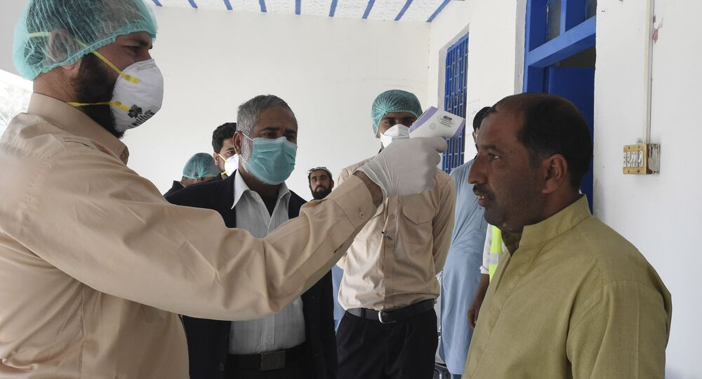 فيروس كورونا - تفتان، إيران فبراير 2020