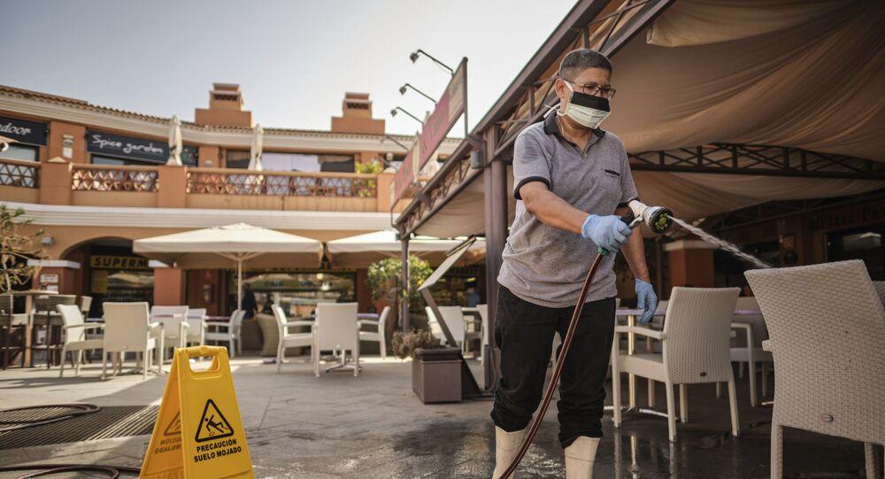 فيروس كورونا - إسبانيا فبراير 2020