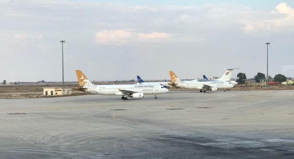 الطيران المدني السوري في مطار دمشق الدولي