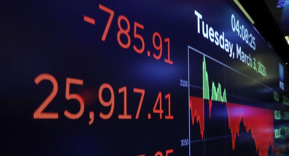 أسواق البورصة الأمريكية، 3 مارس/ آذار 2020