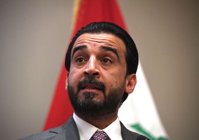 رئيس مجلس النواب في العراق محمد الحلبوسي
