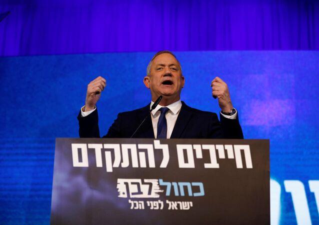 رئيس الوزراء الإسرائيلي الجديد  بيني غانتس